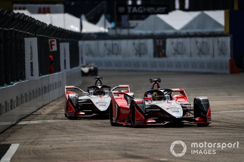 Pascal Wehrlein, Mahindra Racing, M5 Electro Jérôme d'Ambrosio, Mahindra Racing, M5 Electro