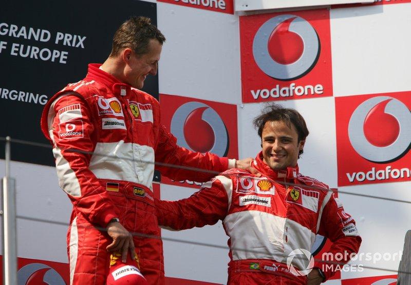 Michael Schumacher, Ferrari, Felipe Massa, Ferrari