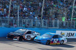 Ryan Blaney, Team Penske, Ford Fusion PPG, Regan Smith, Leavine Family Racing, Chevrolet Camaro Procore