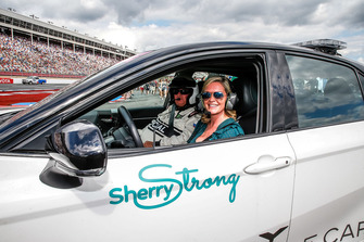 Sherry Pollex, girlfriend of Martin Truex Jr., Furniture Row Racing, Toyota Camry Auto-Owners Insurance, will drive the Toyota Camry pace car to start the race