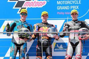 Joan Mir, Marc VDS Racing Brad Binder, Red Bull KTM Ajo Xavi Vierge, Dynavolt Intact GP