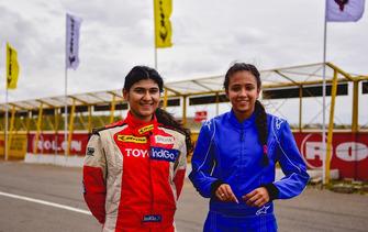 Sneha Sharma and Mira Erda
