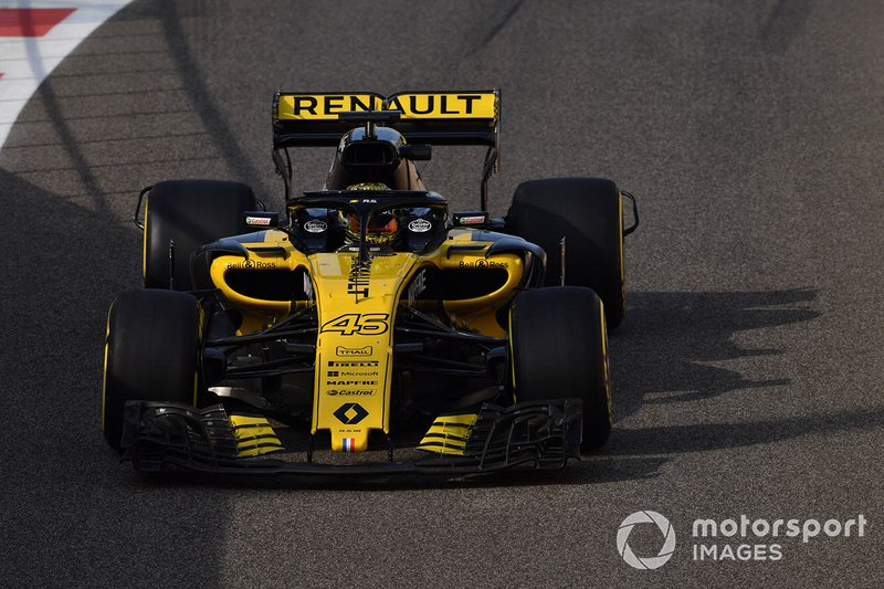 Артем Маркелов, Renault Sport F1 Team RS18