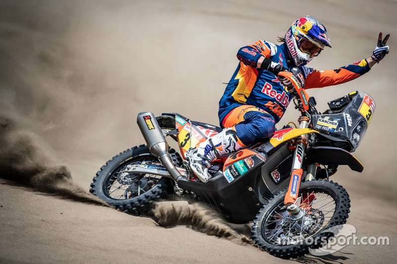 KTM №3 команды Red Bull KTM Factory Racing: Тоби Прайс