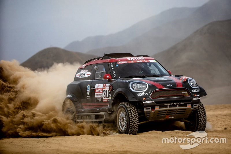 Copa Mundial de Bajas Cross-Country, equipos: X-Raid Team Mini