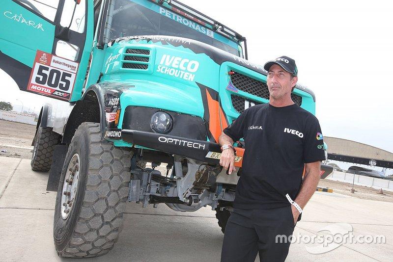 #505 Team De Rooy Iveco: Federico Villagra