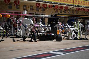Lance Stroll, Williams FW41 au stand