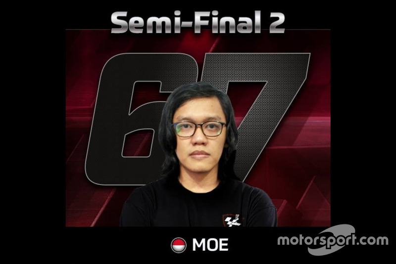 Putut Maulana, wakil Indonesia di Kejuaraan MotoGP eSport