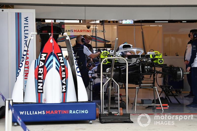 Williams FW41 bodywork