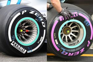 Mercedes wheel detail