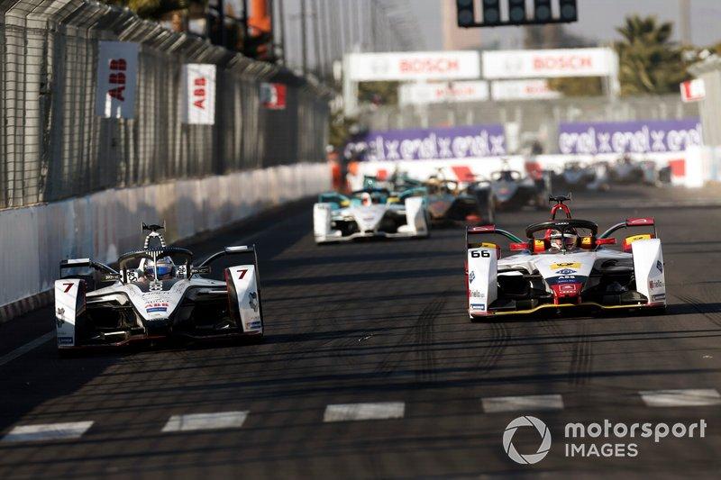 Jose Maria Lopez, GEOX Dragon Racing, Penske EV-3, Daniel Abt, Audi Sport ABT Schaeffler, Audi e-tron FE05