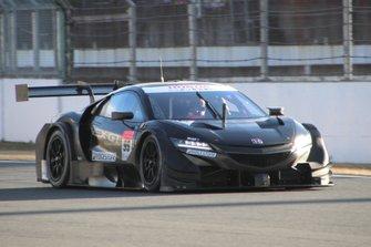 Pierre Gasly, Honda NSX-GT test car