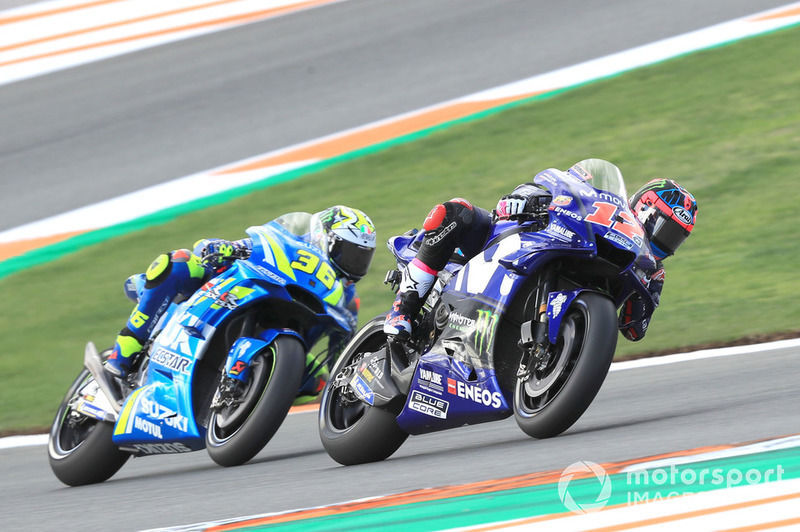 Maverick Vinales, Yamaha Factory Racing, Joan Mir, Team Suzuki Ecstar