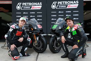 Фабио Куартараро, Petronas Yamaha SRT, и Франко Морбиделли, Petronas Yamaha SRT