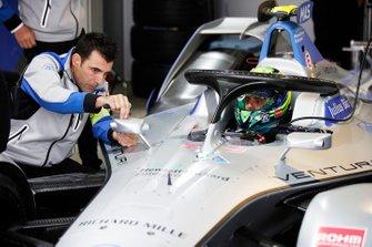 Felipe Massa, Venturi Formula E, Venturi VFE05, in the garage