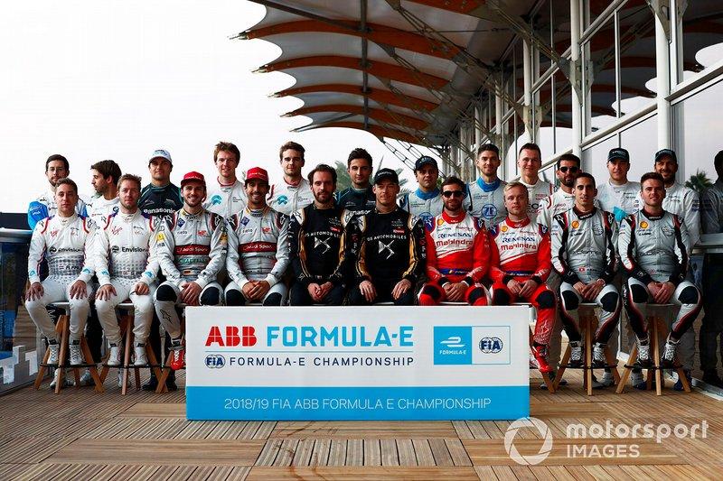 Pembalap Formula E 2018/2019