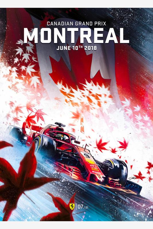 Постер Гран При Канады