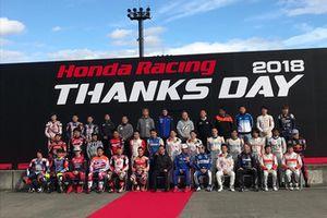 Foto di gruppo Honda Thanks Day 2018