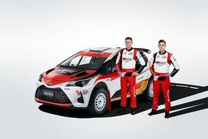 Harry Bates, Lewis Bates, Toyota Yaris AP4