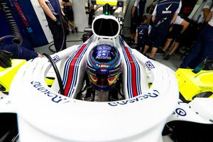 Sergey Sirotkin, Williams Racing, dans son cockpit