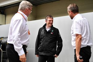 Ross Brawn, Director General de Formula One de Motorsports y James Allison, Director Técnico de Mercedes AMG F1