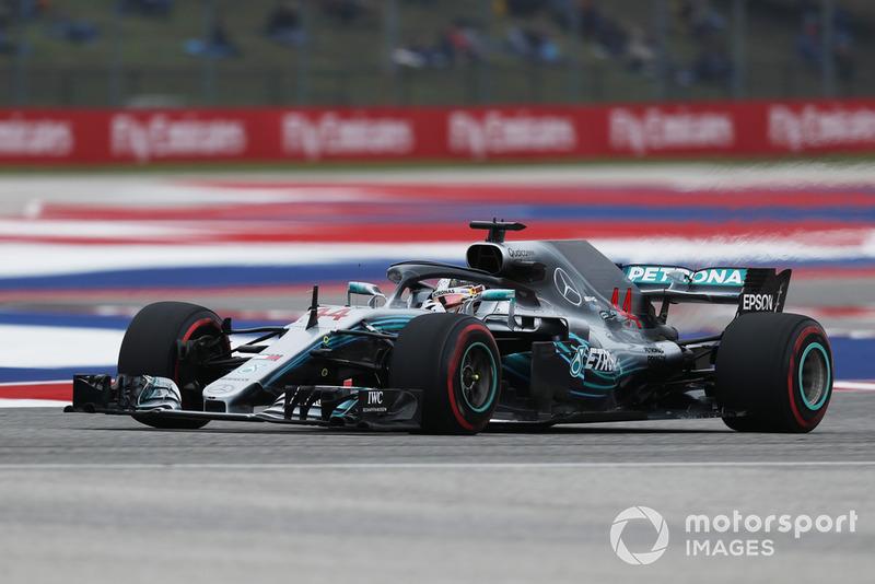 1. Льюис Хэмилтон, Mercedes AMG F1 W09, 1:32.237