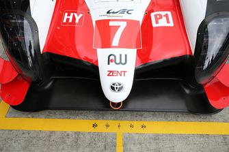 #7 Toyota Gazoo Racing Toyota TS050 ön bölüm detay