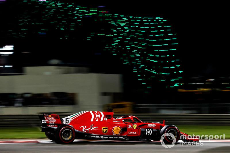 Gran Premio de Abu Dhabi-Sebastian Vettel