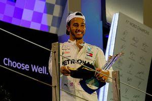 Lewis Hamilton, Mercedes AMG F1 celebrates his victory