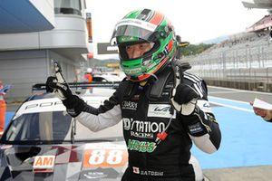 LMGTE-Am polesitter #88 Dempsey Proton Competition Porsche 911 RSR: Satoshi Hoshino