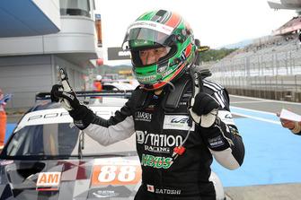 LMGTE-Am pole #88 Dempsey Proton Competition Porsche 911 RSR: Satoshi Hoshino