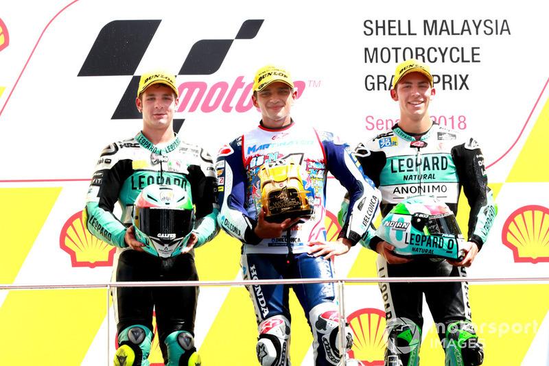 Лоренцо Далла Порта, Leopard Racing, Хорхе Мартин, Del Conca Gresini Racing, Энеа Бастьянини, Leopard Racing