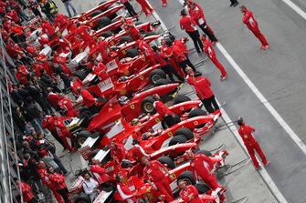 Ferrari F1 clienti ai box