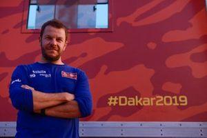 Xavier Colomé, responsable du roadbook du Dakar