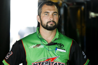Kyle Busch, Joe Gibbs Racing, Toyota Camry Interstate Batteries crew member