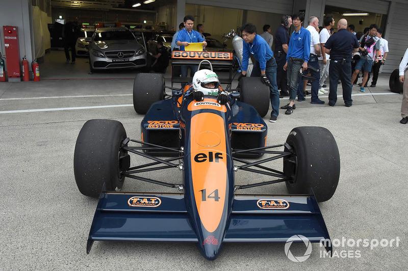 La exhibición con coches históricos por el 30 Aniversario de Suzuka en F1