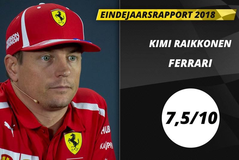 Eindrapport 2018: Kimi Raikkonen, Ferrari