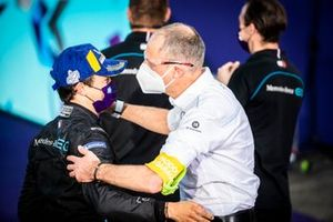 Segundo lugar Nyck De Vries, Mercedes Benz EQ