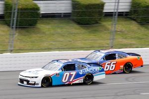 Carson Ware, SS Green Light Racing, Chevrolet Camaro Jacob Construction and Stephen Leicht, Motorsports Business Management, Toyota Camry JANIKING