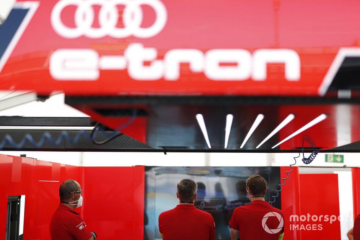 Audi Sport ABT Schaeffler miembros del equipo