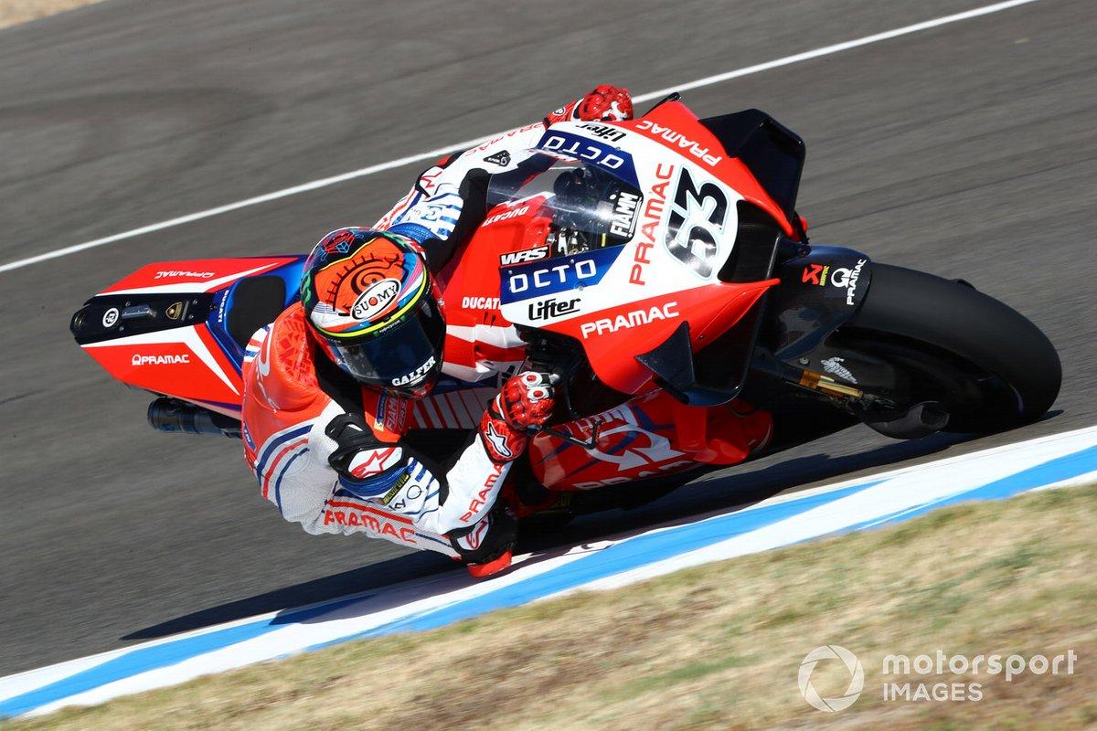 10º Francesco Bagnaia, Pramac Racing - 1:38.417