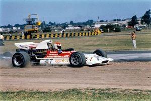 Helmut Marko, BRM P153 spinto fuori dalla pista, GP d'Argentina del 1972