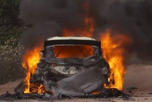 Esapekka Lappi, Janne Ferm, M-Sport Ford WRT Ford Fiesta WRC, burns