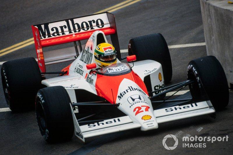 #27: Ayrton Senna (McLaren)