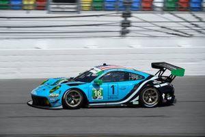 #16: Wright Motorsports Porsche 911 GT3 R, GTD: Ryan Hardwick, Patrick Long
