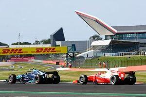 Dan Ticktum, Dams, leads Mick Schumacher, Prema Racing