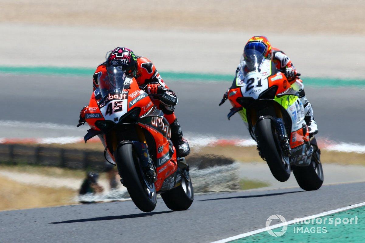Scott Redding, Aruba.it Racing Ducati, Michael Rubin Rinaldi