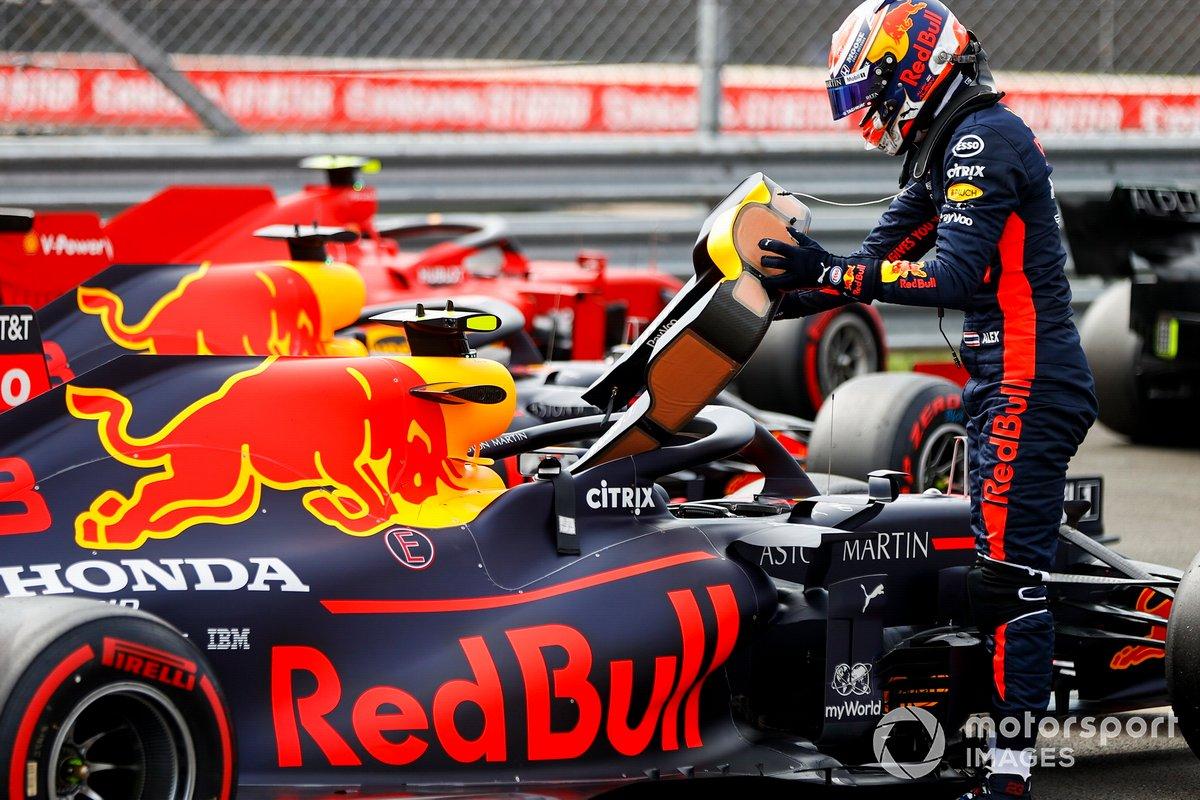 Max Verstappen, Red Bull Racing nel Parc Ferme