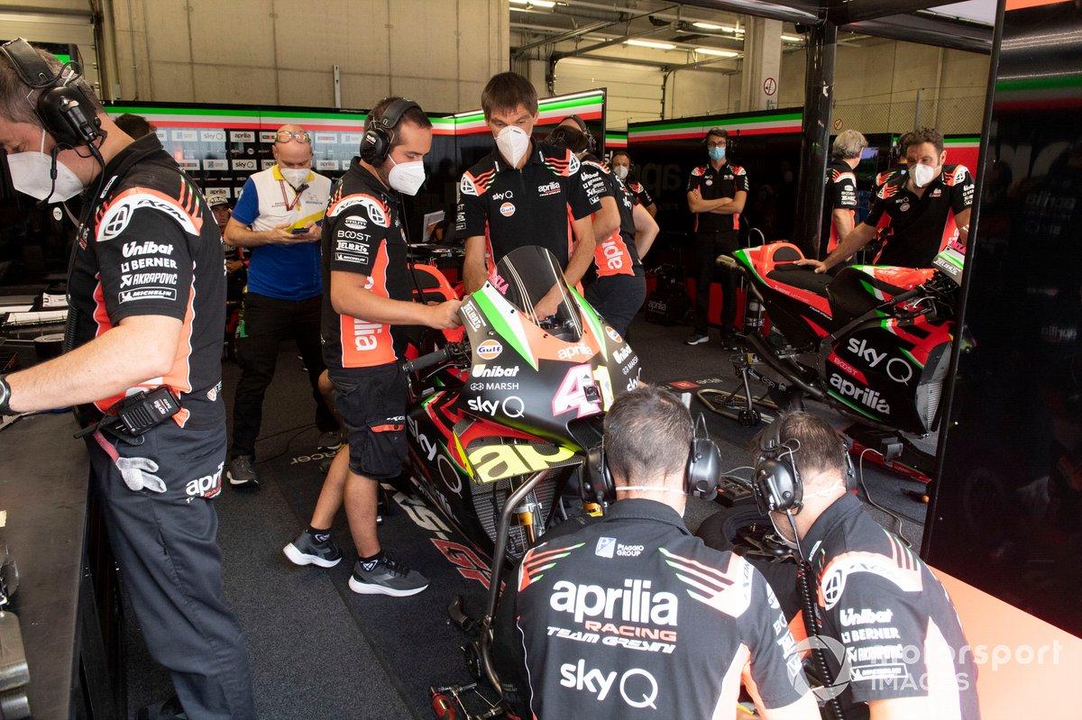 Aprilia Racing Team Gresini garage