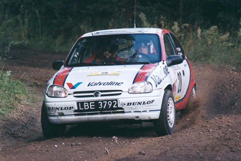 Jan Chróścik, Andrzej Wroński, Opel Corsa B GSi